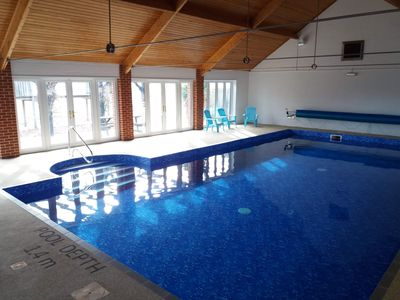 Photo for May Day weekend available!! Lovely spacious barn nr Cromer. Shared indoor pool