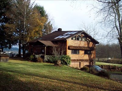 Photo for Spring Special-3 nights for the price of 2-Custom Log Home with Lake View