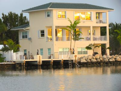 Photo for Outstanding Oceanfront 4 bedroom House with Pool and Deep Water Pier!!