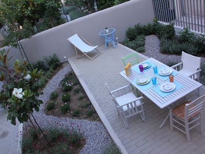 Photo for Stylish house 60m2 & amazing garden near Athens center, the port and the beach