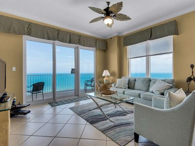 Photo for New Listing, 3BR Corner Condo with Master Bedroom on the Gulf, Private Balcony