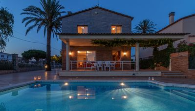 Photo for Apart-rent- House at the canal with pool and mooring (0145)