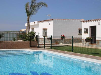 Photo for nice Holiday-home with one bedroom (4-6 sleeps) and large private pool with precious covered barbecue-area