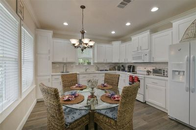 Open concept kitchen with all new appliances