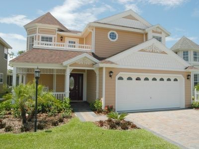 Photo for Executive Disney Golf 4 bedroom Showhome Villa - South facing private pool