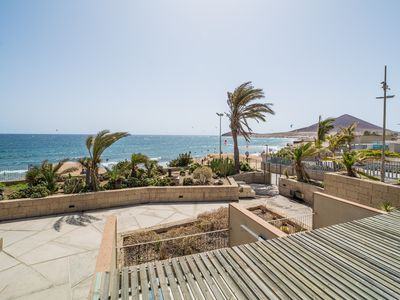 Photo for First row on the beach: Casa Medano 9 in guarded building on first floor
