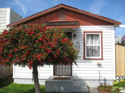 Photo for Charming Beach Cottage-1 Block from Beach, Low Prices