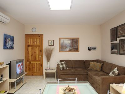 Photo for Modern and Air-conditioned Apartment close to the sea front sleeps 7