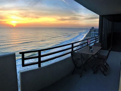 Photo for Luxury Ocean Front 2 br 2 ba Horizons condo for 6.  17th Floor Awesome views!