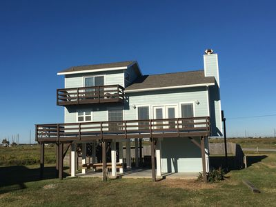 Oceanview Home In Galveston - Newly Renovated - Footsteps From The Beach
