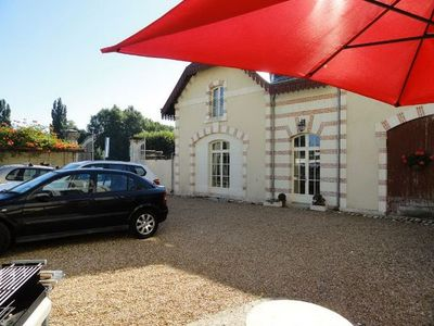 Photo for Loire chateaux, Zoo Beauval, free off road  parking, comfortable accomodation