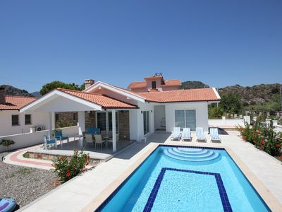 Photo for Villa Boncuk Lovely Modern 2 bed bungalow in peaceful location close to centre