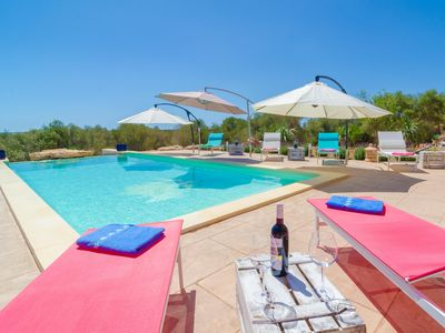 Photo for CAN XESQUET - Villa with private pool in Ses Salines.