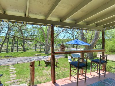 Photo for Gorgeous property located on the banks of the Blanco River