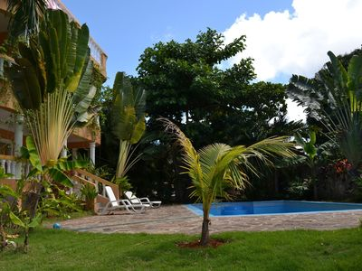 Photo for Apartments with Balcony in the Villa, Pool