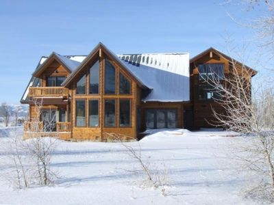 Photo for Large Ski Hill Home- Teton Views- Minutes to Jackson Hole & Grand Targhee