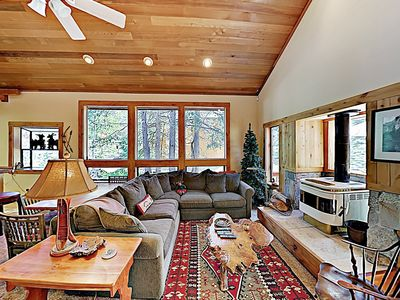 Photo for Modern Cabin in the Pines, Easy Access to Tahoe Donner Amenities & Skiing