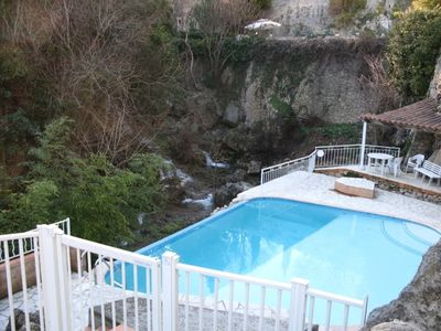 Photo for In an old Oilmill, modern 2,5 room Apartment, Pool, Garden