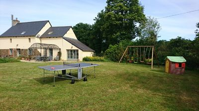 Photo for Charming fully equipped cottage near Dinan, Dinard, St Malo, Rennes, Mont-St-Miche