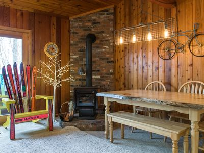 Photo for Ski-in/ski-out from this home w/ a shared hot tub, sauna, & easy mountain access