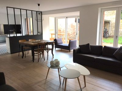 Photo for Large 60m2 apartment with terrace St-Enogat district - DINARD