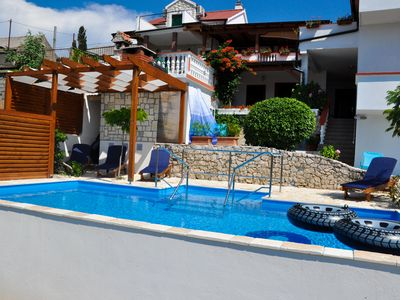 Photo for Apartman Mariva with pool