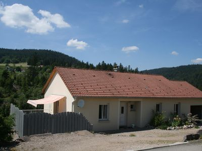 Photo for Recent single storey house 7/8 people + baby Gérardmer Vosges
