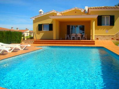Photo for This house is a fresh looking villa with sea views which caters perfectly for six guests; its modern
