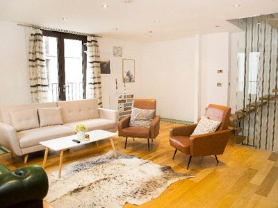 Photo for The Holborn Lights - Modern 3BDR Home with Rooftop Terrace & Garage
