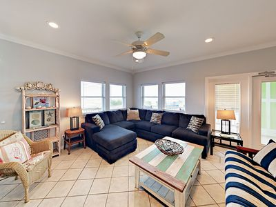 Photo for Fall Savings! Walk to the Beach from this Sunny 2BR Port A Duplex!