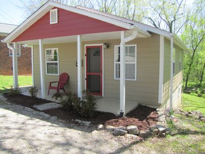 Photo for Adorable central Asheville cottage--30 day minimum May and/or June, 2018.