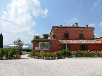 Photo for Lovely Apartment in Coriano Italy with Swimming Pool