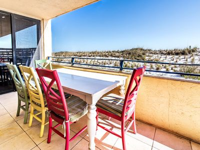 Photo for ☀Nautilus 1101-3BR Private Patio☀BeachFront! Updated! OPEN Apr 29 to May 1 $690!