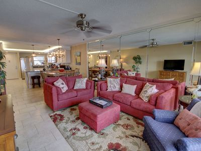 Photo for Gorgeous Gulf Front Condo w/ Views of the Gulf and Complex Pool,  Balcony & More