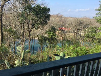 Beautiful Condo on the Guadalupe River right in the heart of historic Gruene.