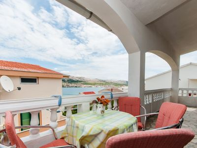 Photo for Apartments Marko (25151-A2) - Pag - island Pag