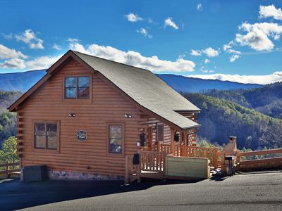 Photo for Gorgeous Views and gorgeous cabin for you to enjoy!