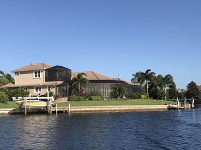 The View of our home from Yellowfin Lagoon!
