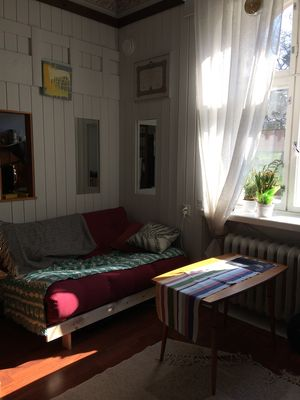 Photo for Cozy quiet studio in a jugendstil villa in Old Eira, downtown Helsinki