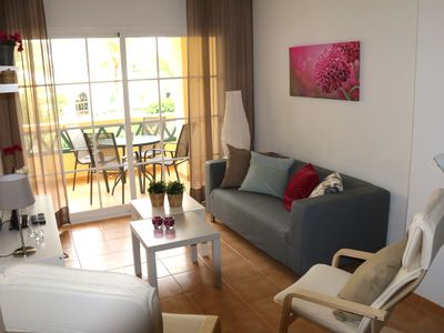 Photo for Modern bright apartment only 75 meters from Torrecilla Playa and other amenities
