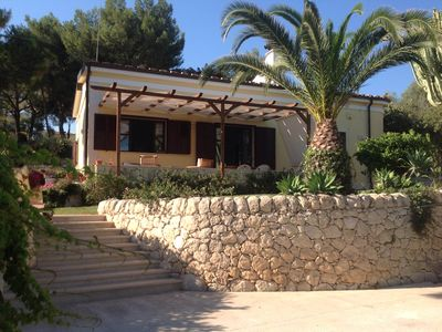 Photo for Family Villa By The Beach With a Big Garden, Sea Views and Private Parking