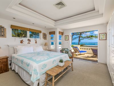 Photo for Heavenly Beach Home, Beautiful Ocean and Sunrise Views, Near Town. TVNC5057