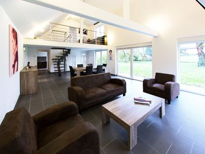 Photo for Modern House of 100m2 Classified 3 * - 4 / 6pers - Big Garden