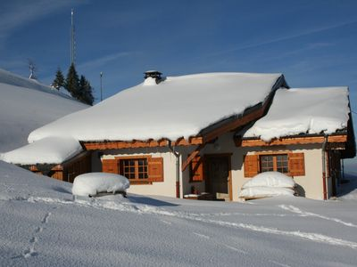 Photo for Chalet 110m2,4 stars, new, comfortable, in the heart of the mountains.