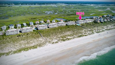 Photo for Wrightsville Dunes:  Oceanfront Condo, 2 Pools, Tennis Court!!!