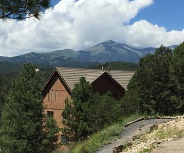 Photo for Beautiful Alto Cabin with Big Views of Sierra Blanca - Now with AC!