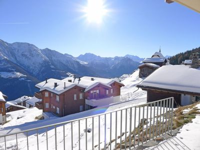 Photo for Apartment Weisshorn in Bettmeralp - 6 persons, 3 bedrooms