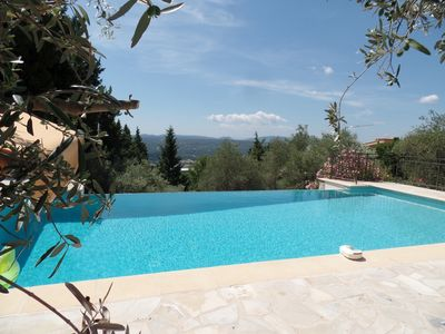 Photo for Great Villa with Infinity Pool, Stunning Views & Walking Distance to Village