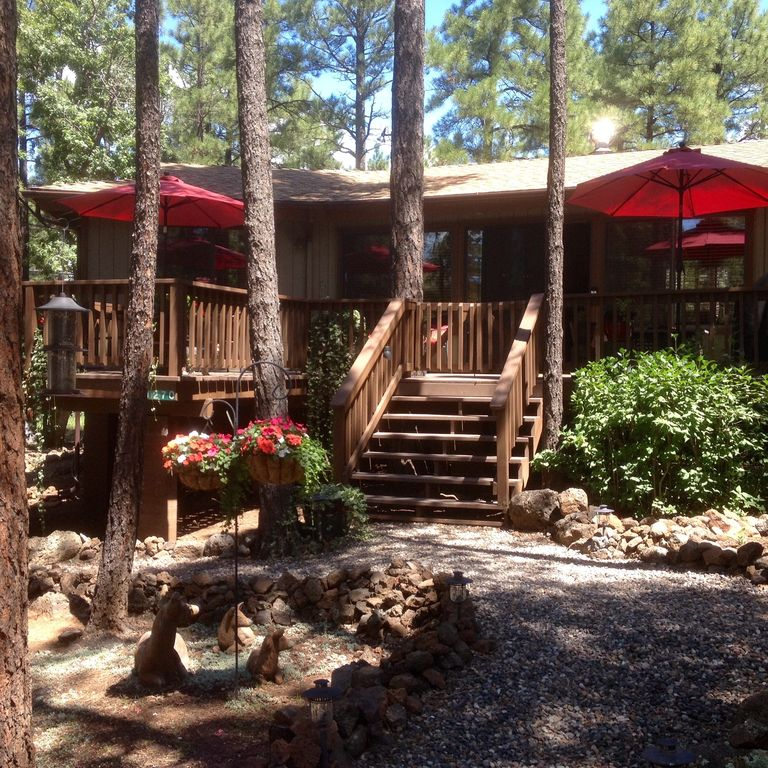 Escape the heat weekdays available in july vrbo for Az cabin rentals with hot tub