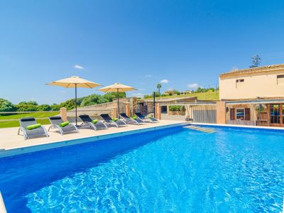 Photo for ES PONT DEN TEULARI NOU - Villa with private pool in Manacor.